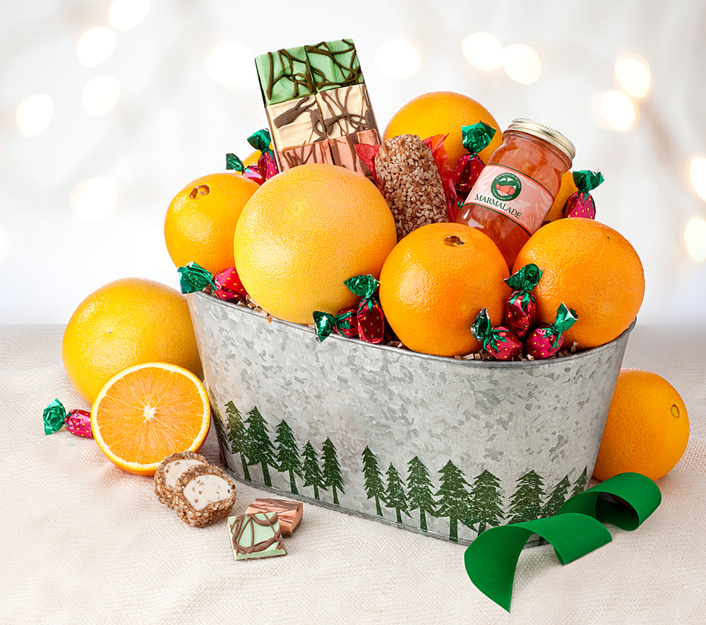 Festive Farmhouse Tub - Florida Orange World