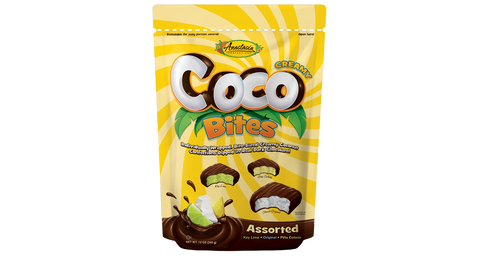 Coco Bites in Assorted Flavors 12 oz. - Florida Orange World