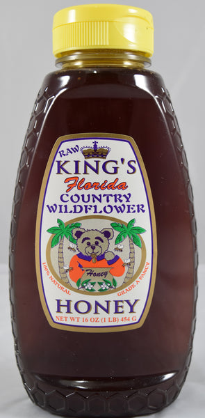 Country Wildflower Honey 16 oz. - Orange World