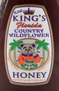 Country Wildflower Honey 16 oz. - Florida Orange World