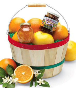 gourmet gift ideas tagged fruit basket orange world