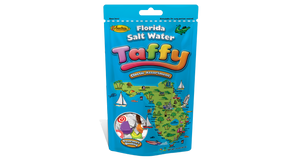 Florida Map Taffy, Assortment Stand-Up Pouch 14 oz. - Florida Orange World