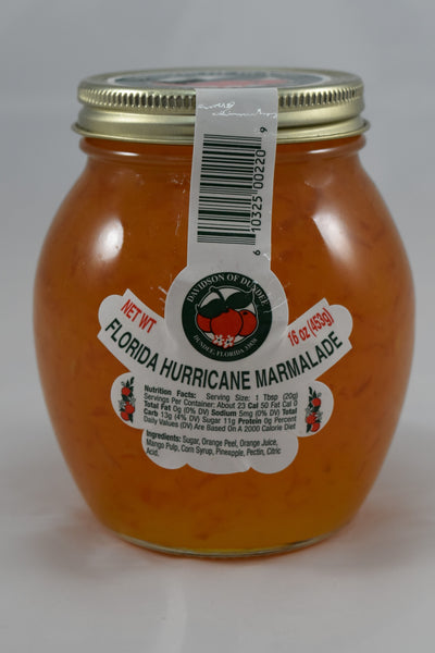 Florida Hurricane Marmalade 16 oz. - Florida Orange World