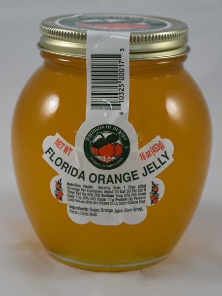 Florida Orange Jelly 16 oz. - Florida Orange World