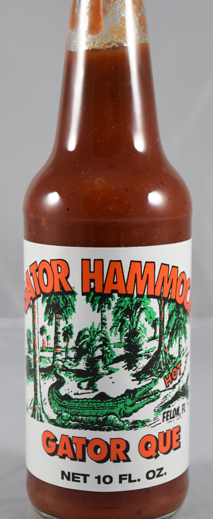 Gator Hammock, Gator Que 10 oz - Florida Orange World