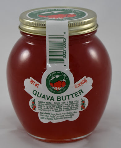 Guava Butter 16 oz. - Florida Orange World