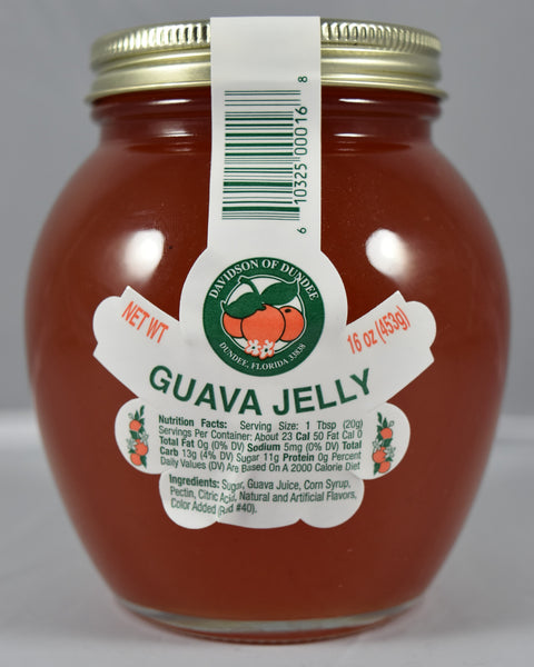 Guava Jelly 16 oz. - Florida Orange World