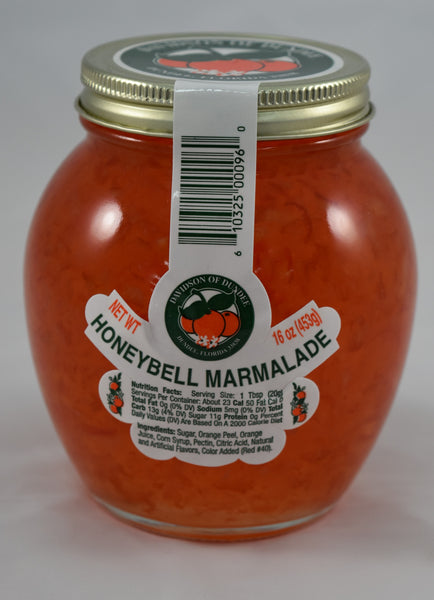 HoneyBell Marmalade 16 oz. - Florida Orange World