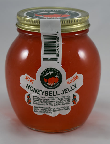 HoneyBell Jelly 16 oz. - Florida Orange World