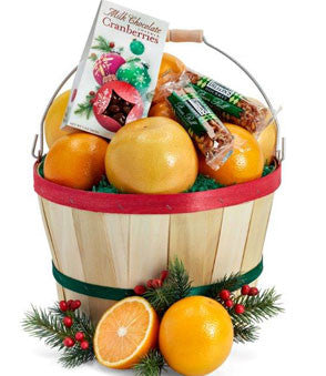 Junior Christmas Grove Basket - Orange World