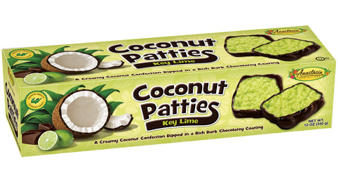 Key Lime Coconut Patties 12oz - Florida Orange World