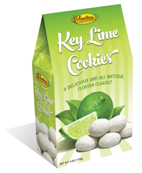 Key Lime Cookies 6 oz. - Florida Orange World
