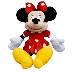 Minnie Mouse Plush 19 Inch, Red Dress - Florida Orange World