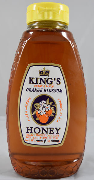 Orange Blossom Honey 16 oz. - Florida Orange World