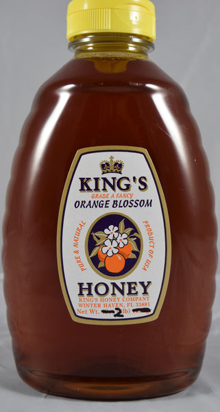 Orange Blossom Honey 32 oz. - Orange World
