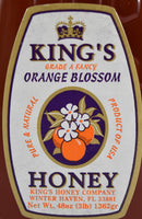 Orange Blossom Honey 48 oz. - Florida Orange World