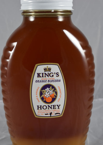 Orange Blossom Honey 4 lb - Florida Orange World