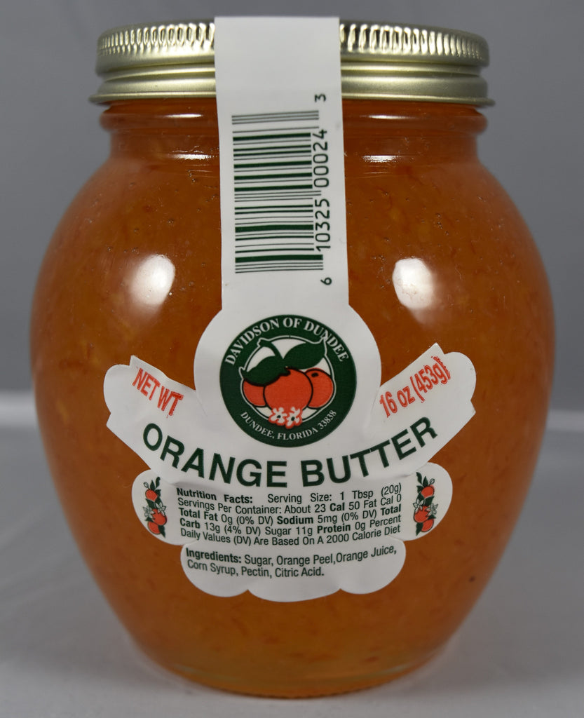 Orange Butter 16 oz. - Florida Orange World