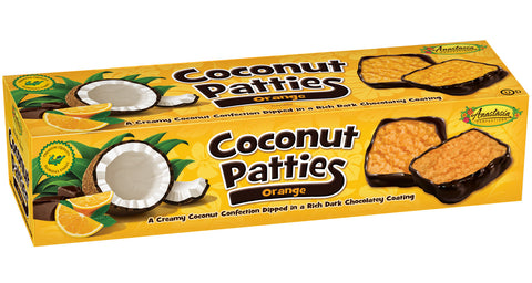 Orange Coconut Patties 12oz - Florida Orange World