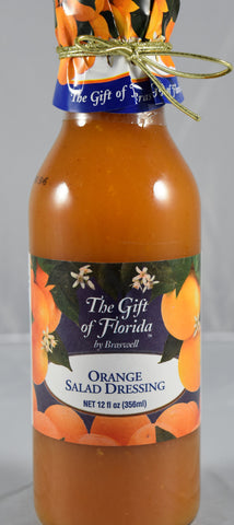 Braswell's Orange Salad Dressing 12 oz. - Florida Orange World