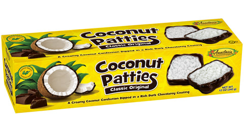 Classic Original Coconut Patties 12oz - Florida Orange World