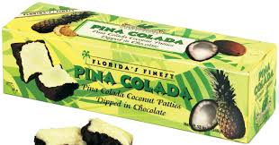 Pina Colada Coconut Patties 12oz box - Florida Orange World