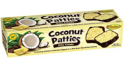Pina Colada Coconut Patties 12oz - Florida Orange World