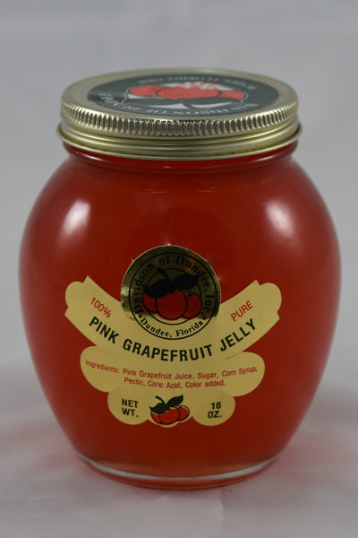 Pink Grapefruit Jelly 16 oz. - Florida Orange World