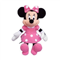 Pink Minnie Mouse Plush 15 inches - Florida Orange World