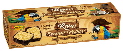 Rum Coconut Patties 12oz - Florida Orange World
