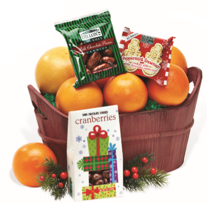 Season's Greetings Basket - Orange World