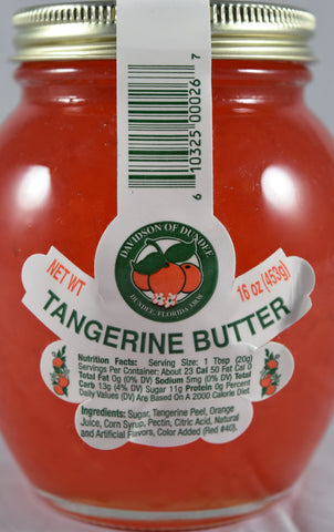 Tangerine Butter 16 oz. - Florida Orange World