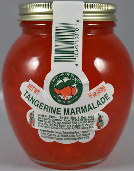 Tangerine Marmalade 16 oz. - Florida Orange World