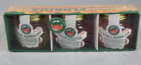 Three Pack of 3 oz. Jelly and Marmalade - Florida Orange World