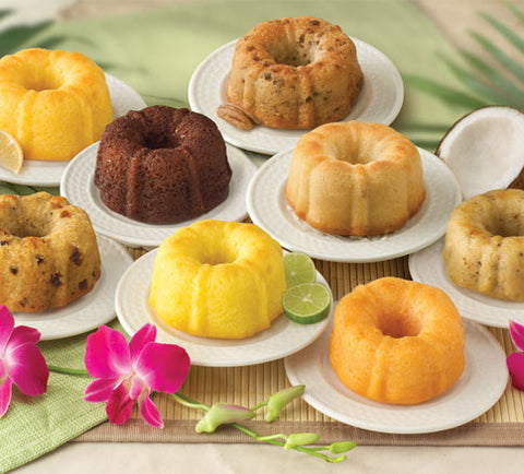 Tropical Flavored Cakes - Florida Orange World
