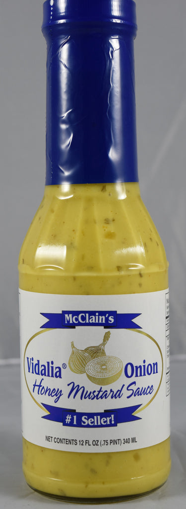 Vidalia Onion Honey Mustard 12 oz. - Florida Orange World