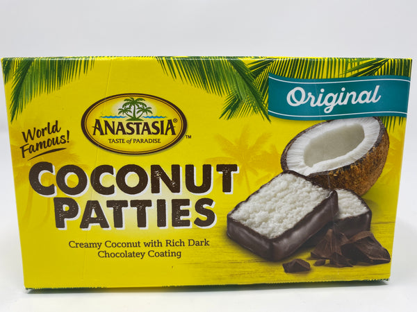 Classic Original Coconut Patties 8oz - Florida Orange World