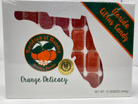Florida Citrus Candy - Orange Delicacy 12 OZ - Florida Orange World