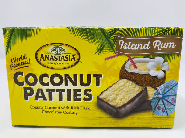 Rum Coconut Patties 8oz - Florida Orange World