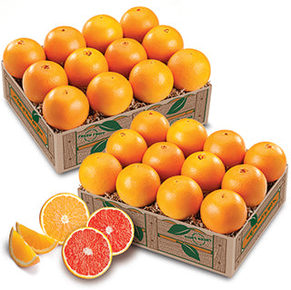 Red and White Navels - Florida Orange World