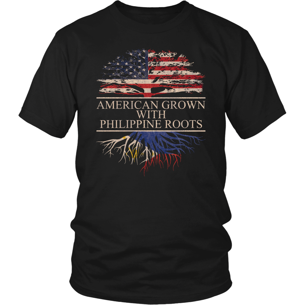 American Grown with Philippine Roots T-Shirt