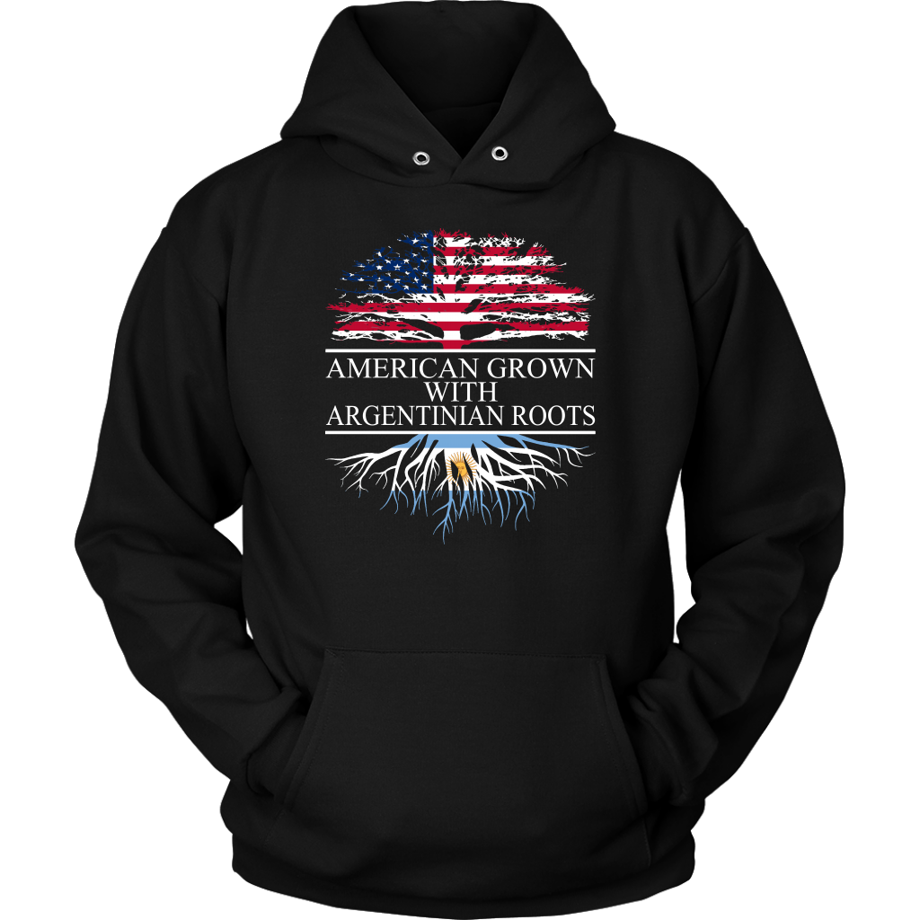 American Grown with Argentinian Roots Hoodie