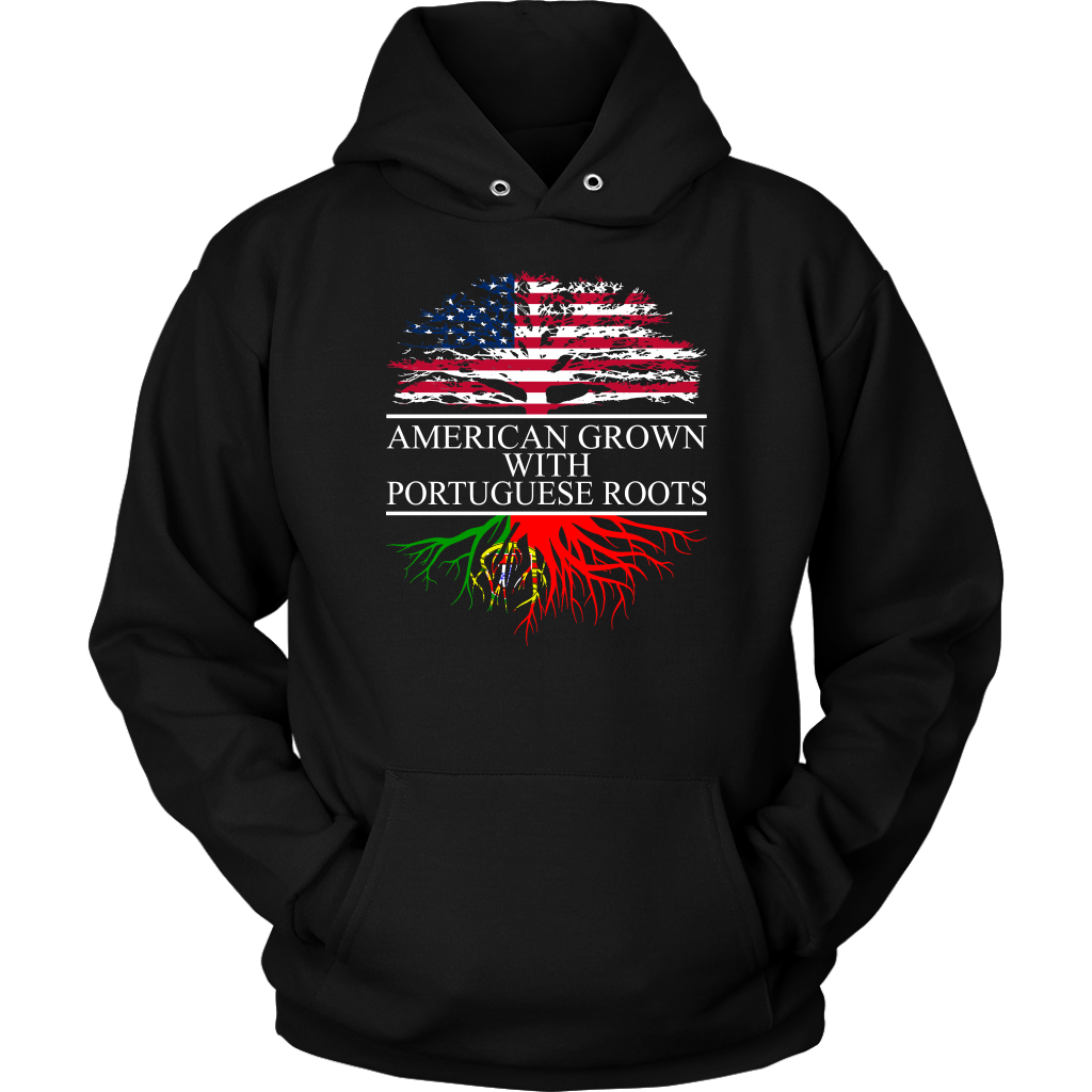 American Grown with Portuguese Roots Hoodie