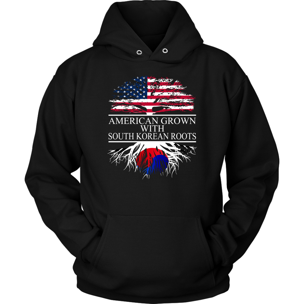 American Grown with South Korean Roots Hoodie