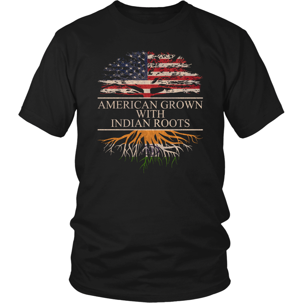 American Grown with Indian Roots T-Shirt