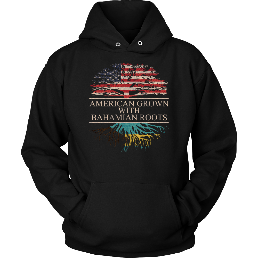 American Grown With Bahamian Roots Hoodie