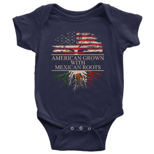 American Grown With Italian Roots Baby Boys Girls Cotton Comfortable Lovely Short Sleeve Bodysuits