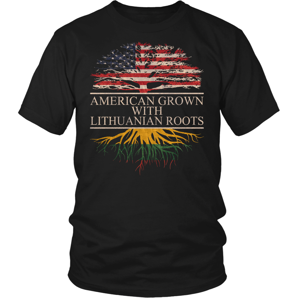 American Grown with Lithuanian Roots Shirt