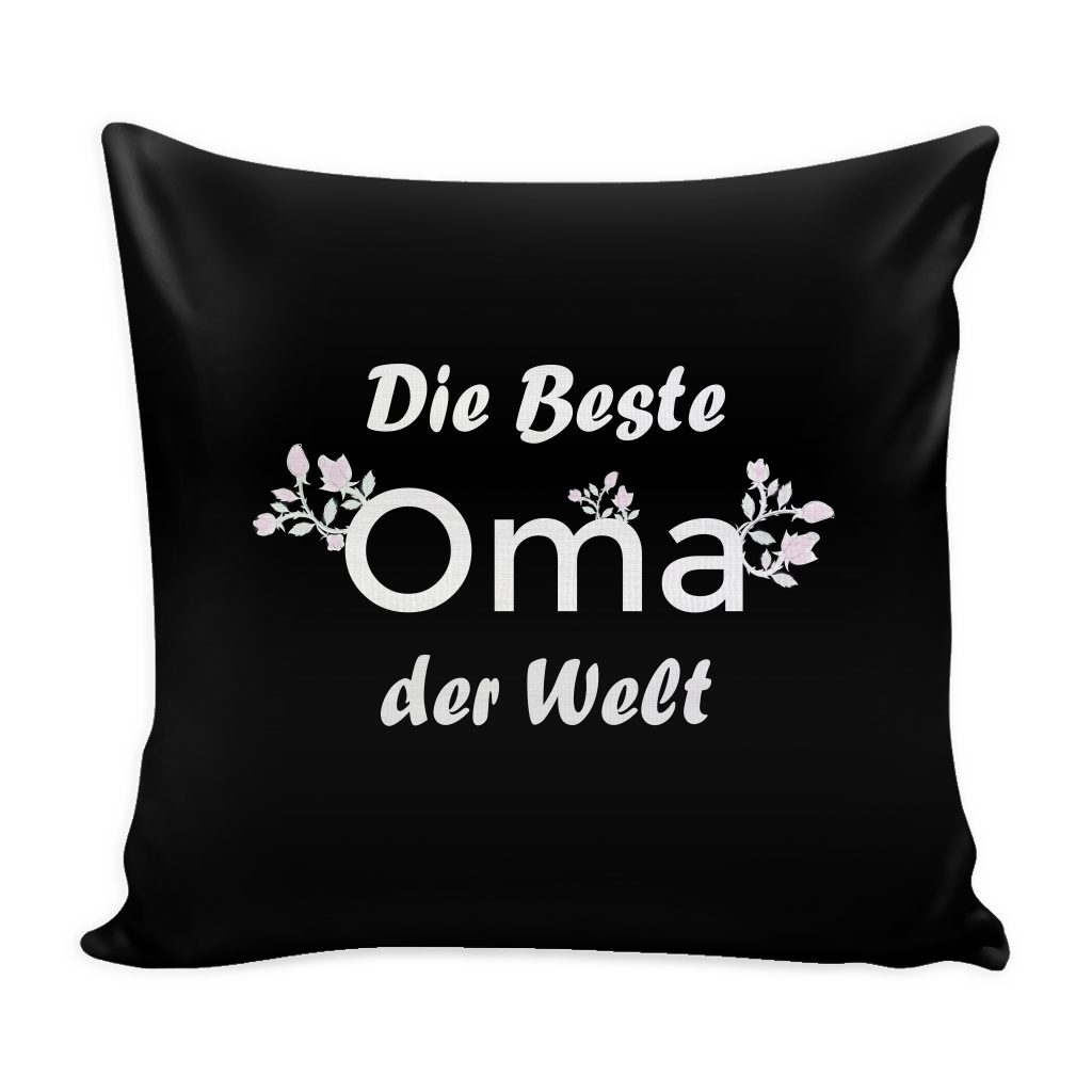 Die Beste Oma der Welt - Grandmother Pillow Cover
