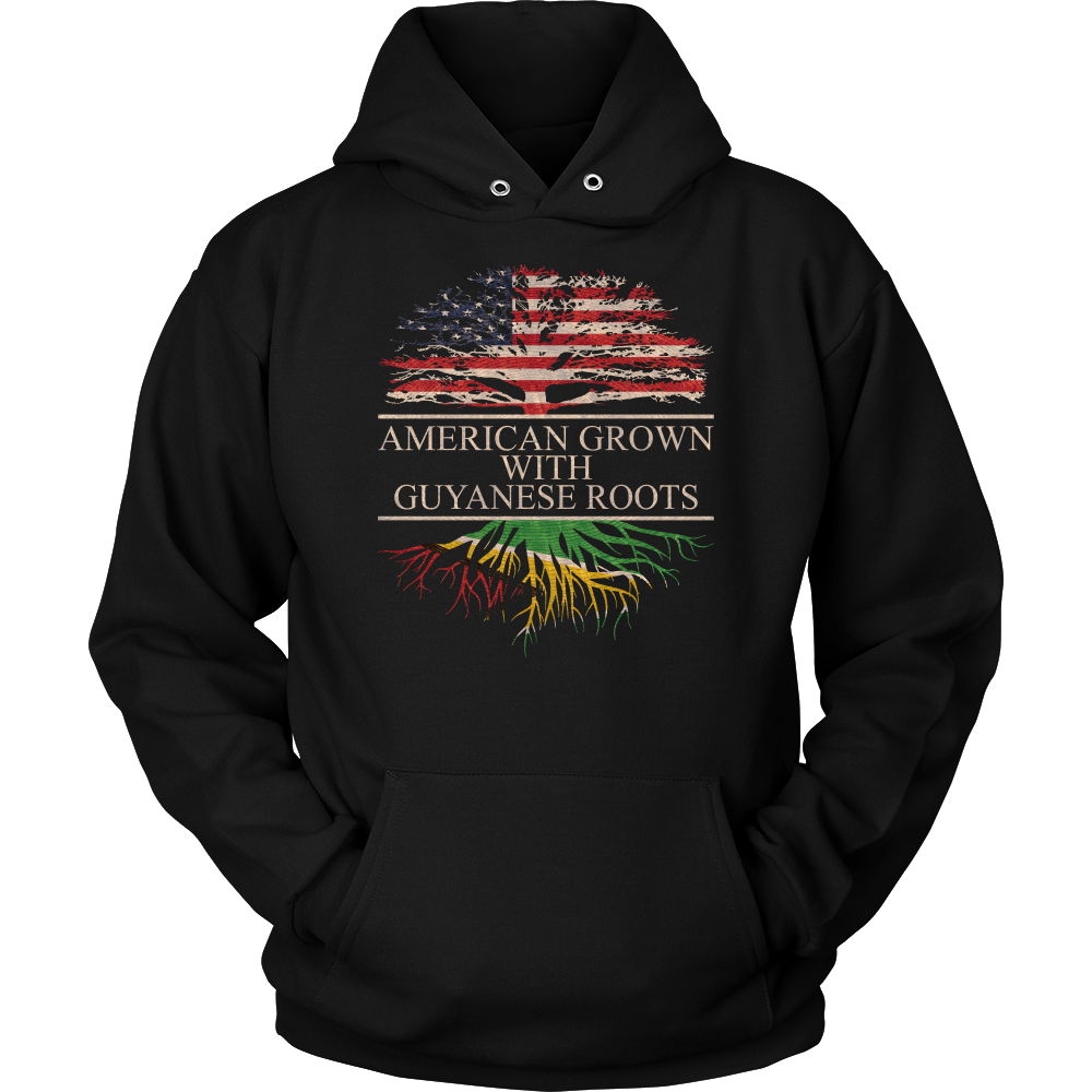 American Grown With Guyanese Roots Hoodie